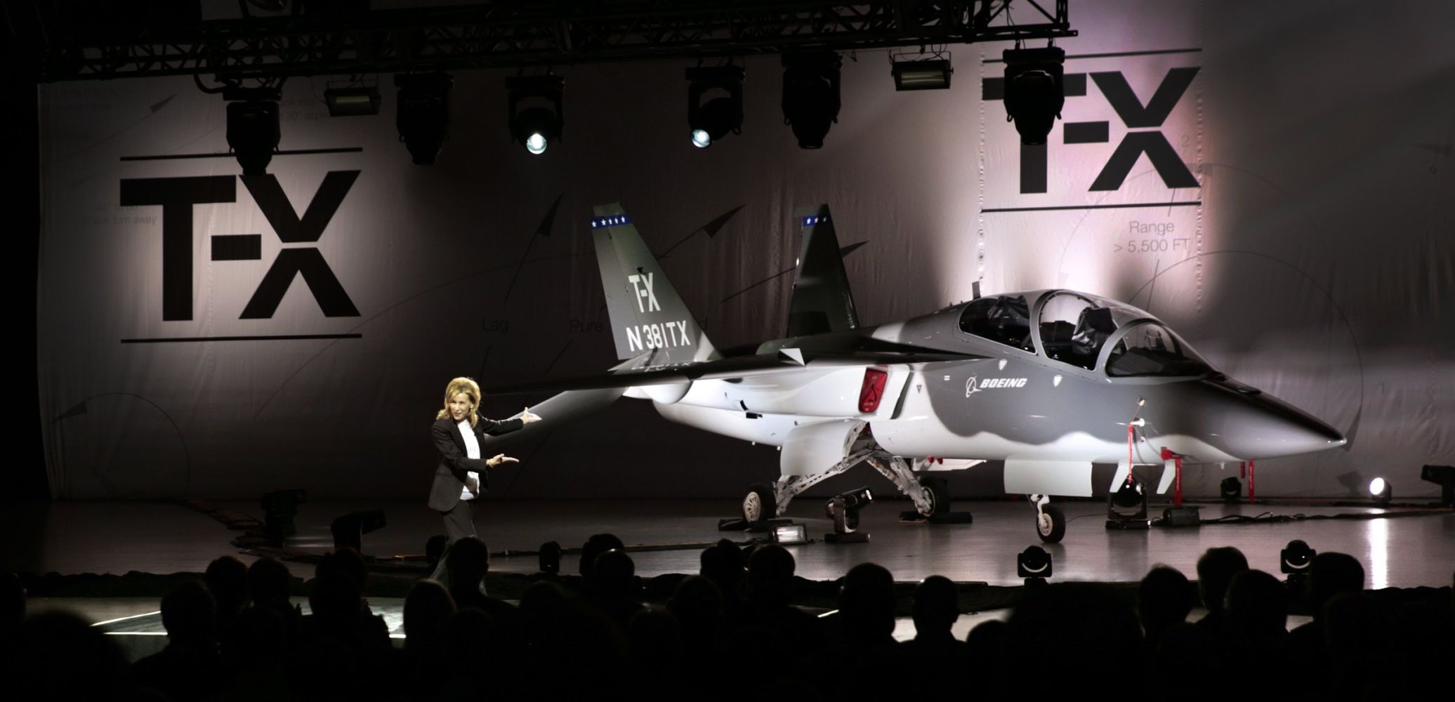 Boeing and Saab unveil new T X Air