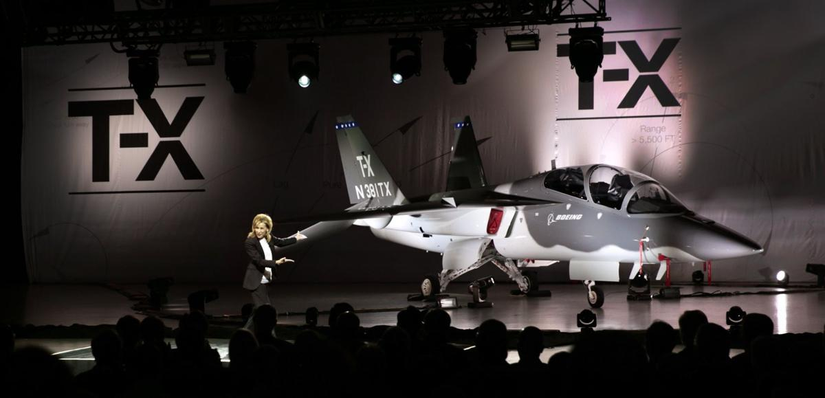 Boeing and Saab unveil new T-X Air Force trainer