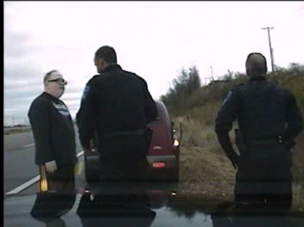 Man claims rights violated in Collinsville traffic stop
