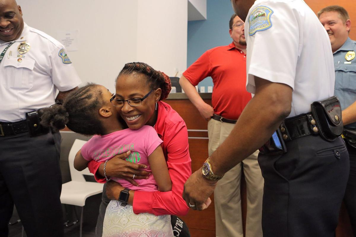 Louisiana girl on mission to hug officers in 50 states visits ferguson law and order stltoday com
