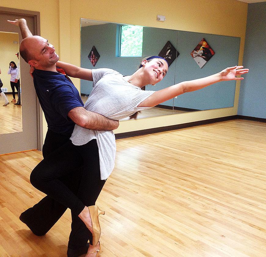 Dancers Alex and Elsa Church