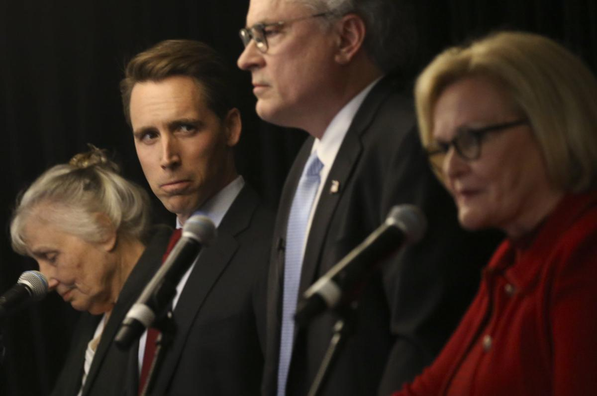 McCaskill, Hawley to square off in first debate