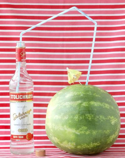 Spiked watermelon