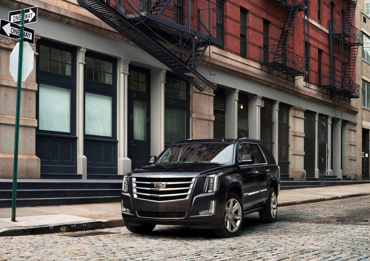 2017 Cadillac Escalade: Luxury that's big and unapologetic ... on used golf carts 4 seater, used cadillac golf carts, used 8 passenger golf cart, rent escalade golf cart, cadillac escalade limo golf cart, used h3 golf cart, used golf cart body kits,