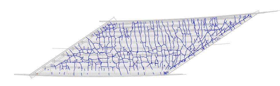 Crack map