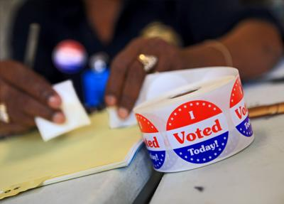 City ballot measure at the polls today