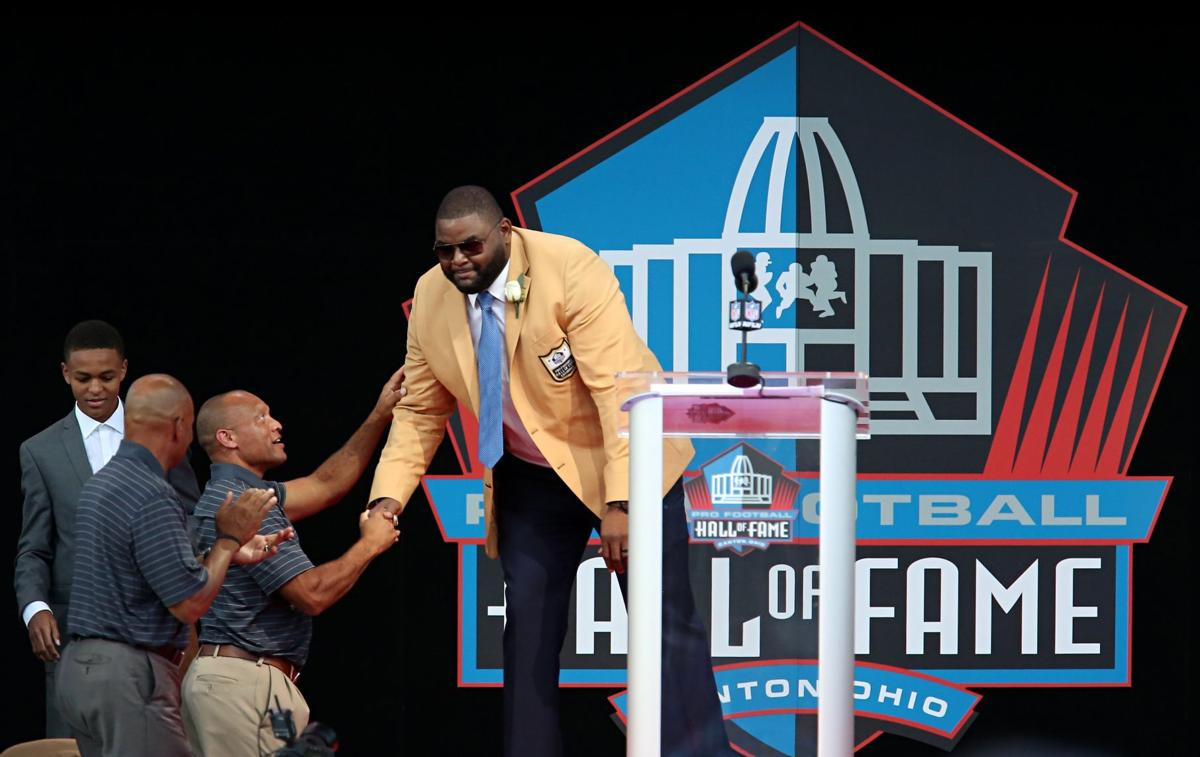 2016 Enshrinement At Pro Football Hall Of Fame Orlando Pace