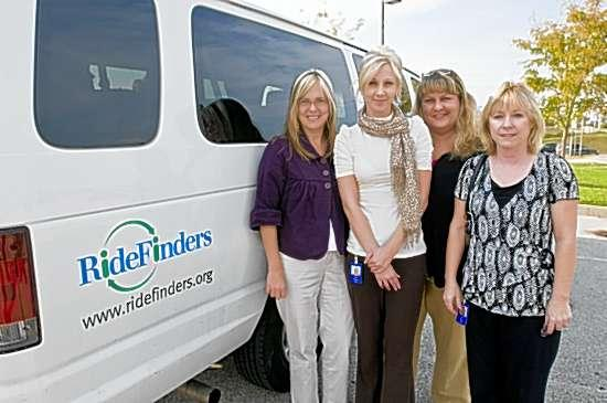 Commuters kick back with RideFinders