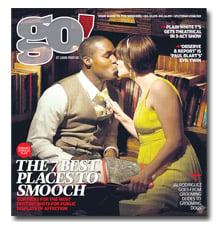 Black man kissing white woman causes stir
