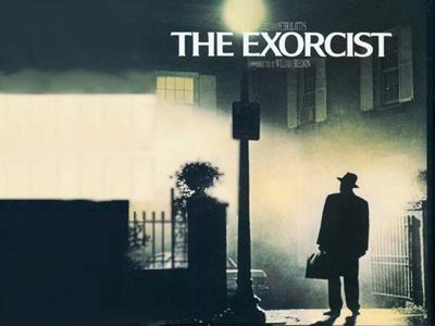 """Poster from William Friedkin's """"The Exorcist"""""""