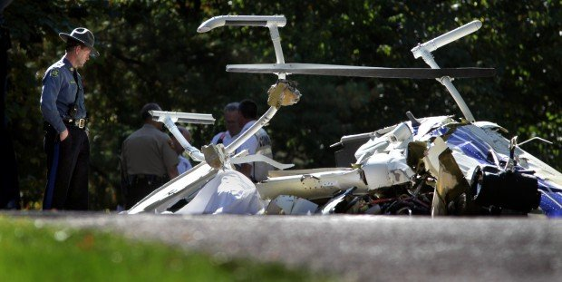 Pilot dead after highway patrol helicopter crashes near