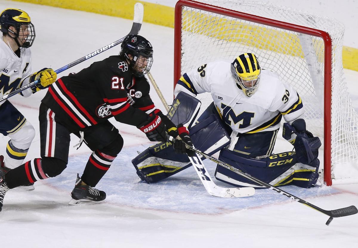 St Louis Blues Close NCAA Michigan Northeastern Hockey