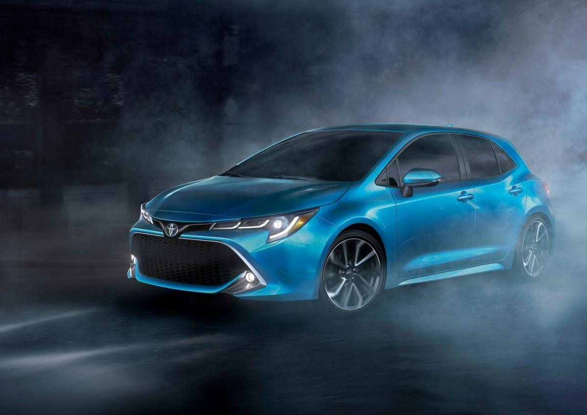 2019 Toyota Corolla Hatchback Everything Including The Name Is