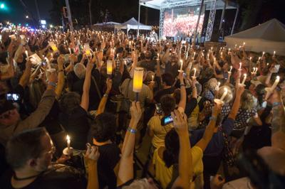 Elvis Presley Death Anniversary Vigil