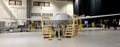 Boeing refueling drone
