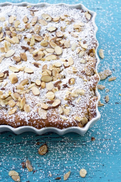 Food Butter Pear Cake