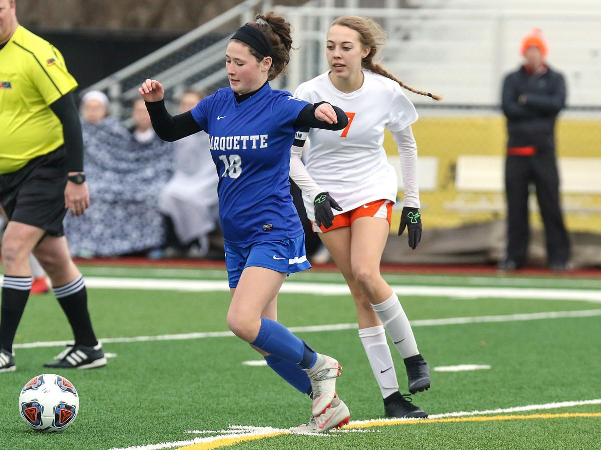 Alton Marquette vs. Waterloo girls soccer