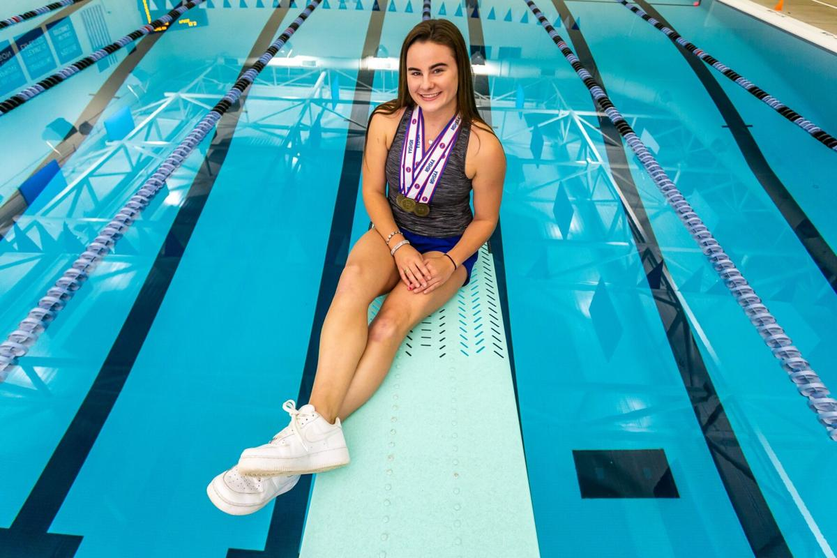 Margo O'Meara, Westminster, 2021 All-Metro girls swimmer and diver of the year