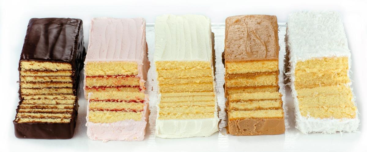 Miss Hulling's split layer cakes