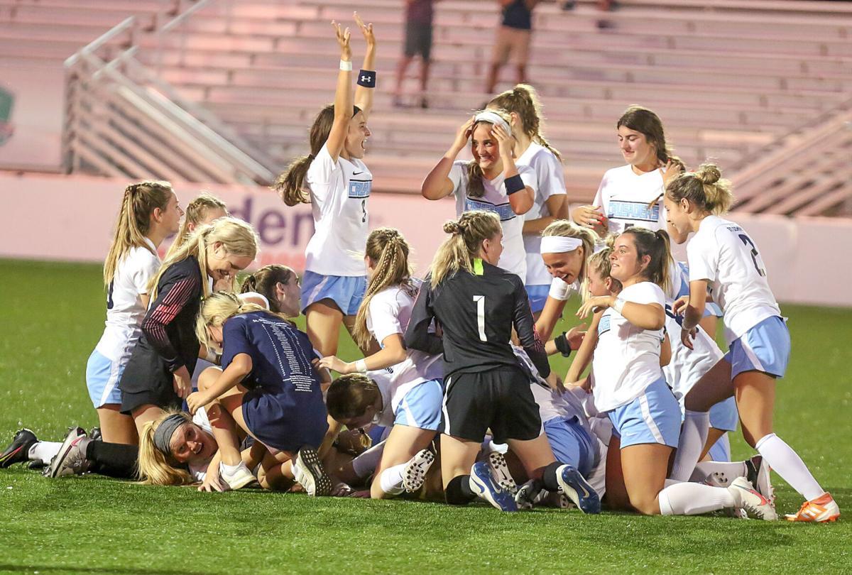 St. Dominic vs. Nerinx Hall girls soccer