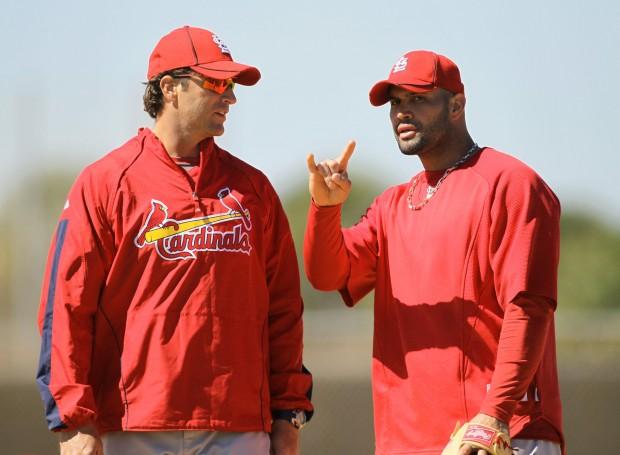 St. Louis Cardinals Continue Spring Training At Roger Dean Stadium In Jupiter, Fla.