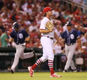 No relief in sight as Padres pound slumping Cardinals