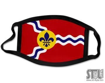 St. Louis flag mask
