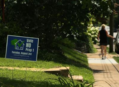 Webster Groves' Proposition 1 fails