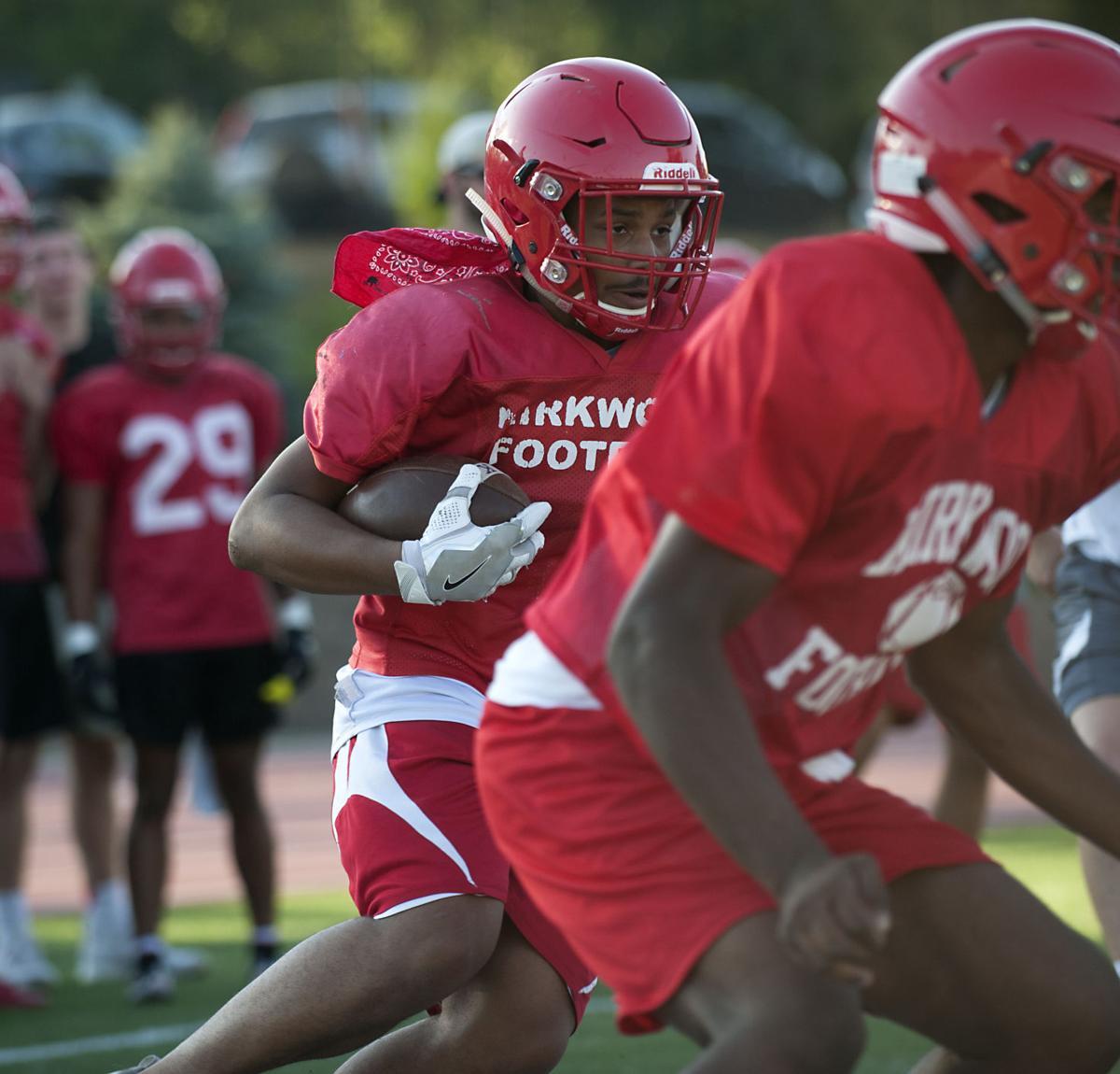 Kirkwood Football Practice