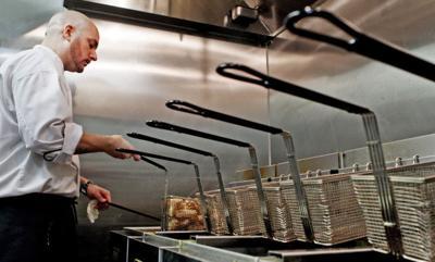 Restaurant owner upset over stolen grease (copy) (copy)