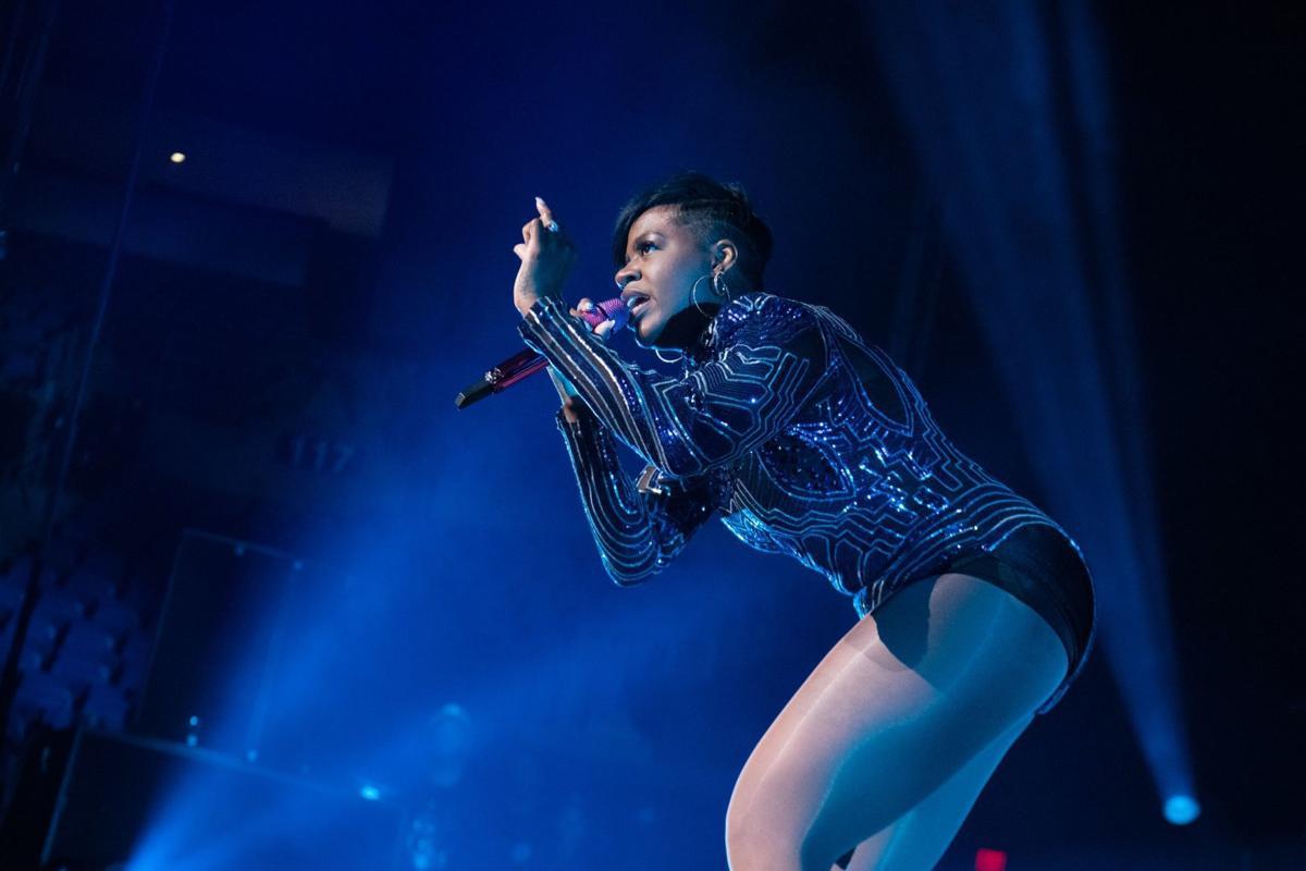 iParty: Fantasia plays Chaifetz Arena