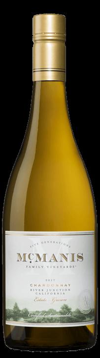 McManis Family Vineyards 2017 Chardonnay, River Junction, California