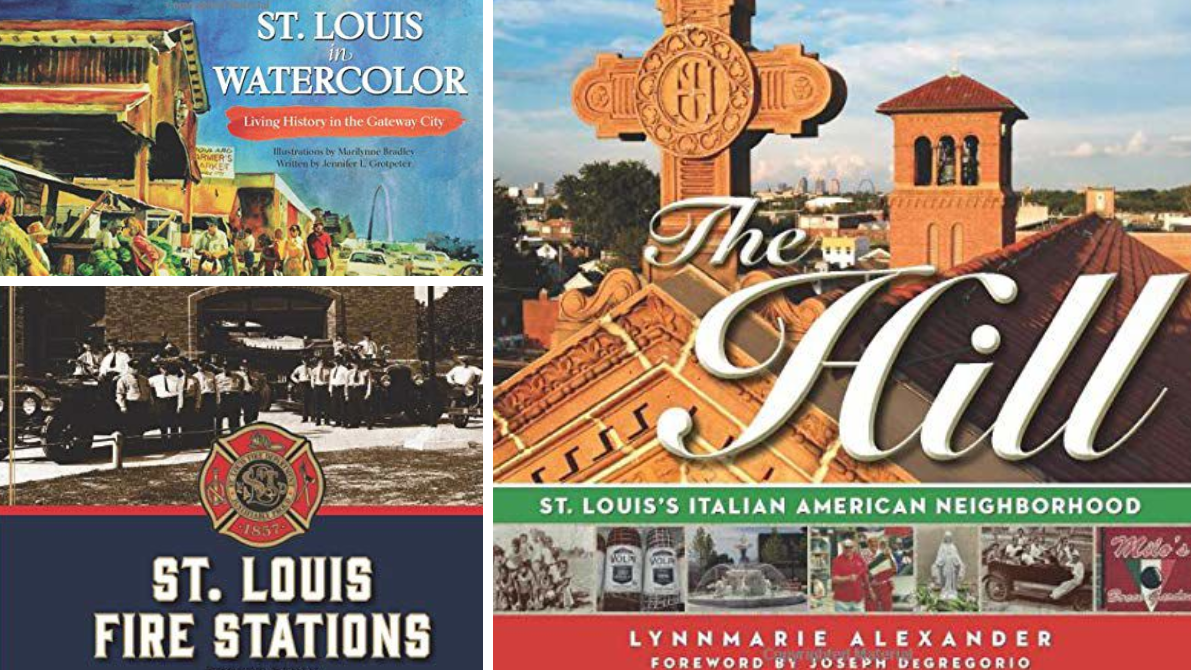 Glossy books explore the Hill, fire stations and watercolor art of St. Louis