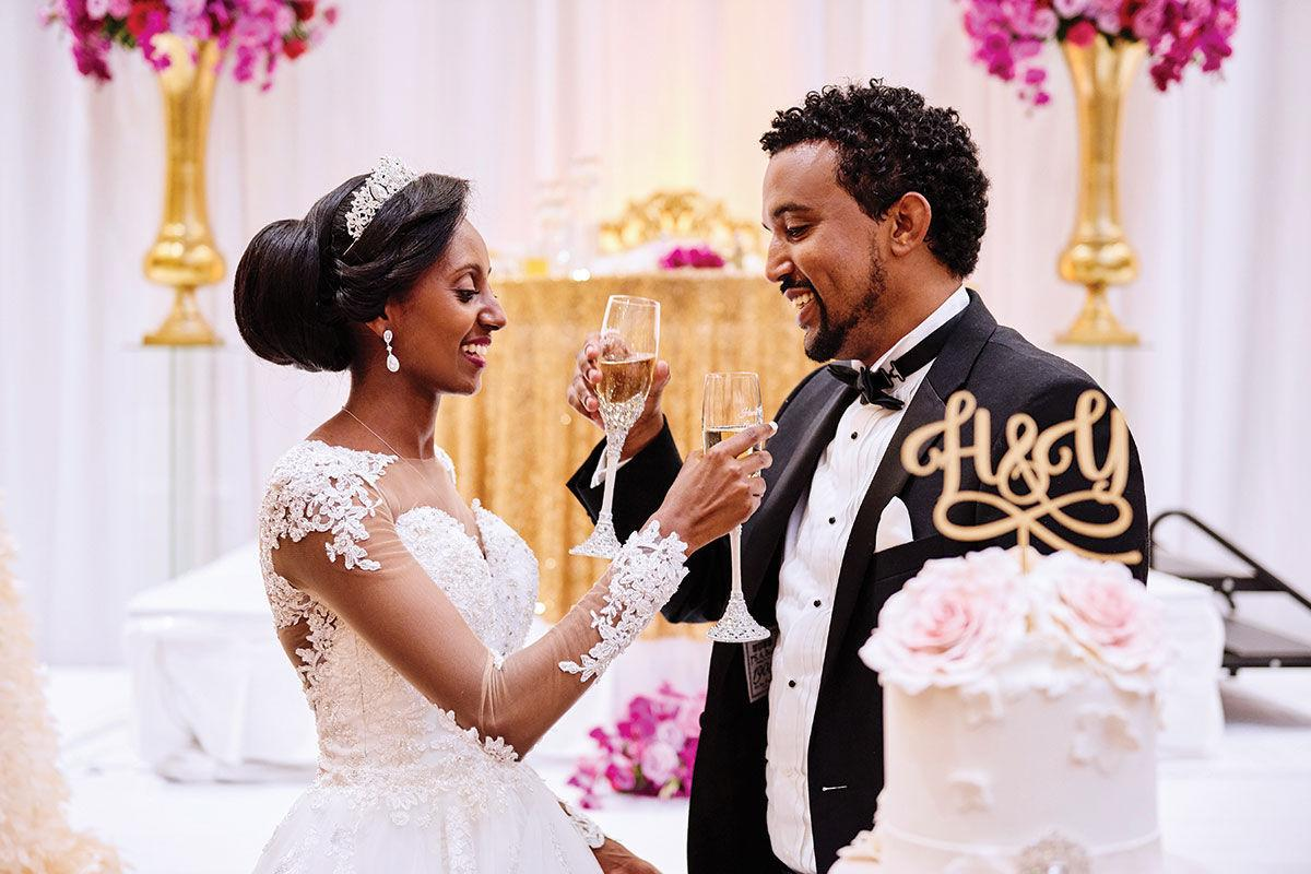 Ethiopian Wedding Projects Church White Party For 600 Wedding