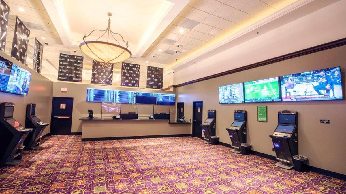 Casino Queen temporary sportsbook