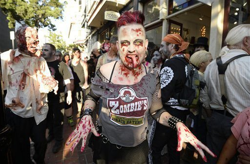 Halloween Costumes Zombie soccer Player