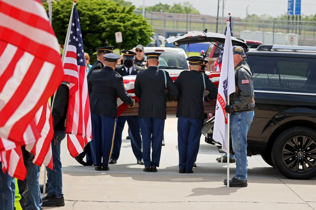 Cpl. Vance comes home after 70 plus years