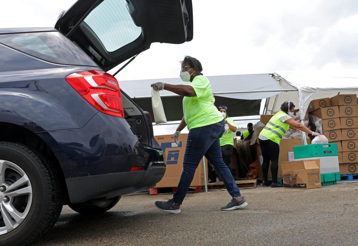 Urban League serves thousands in large food distribution