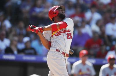 Cardinals Rockies Baseball