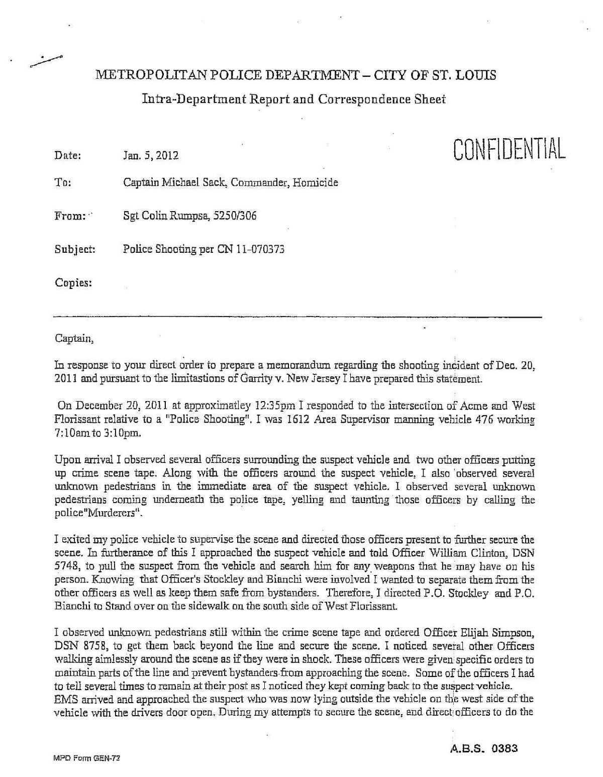 Murder trial of ex cop in st louis could draw national attention download pdf sgt colin rumpsas internal report and fbi statement madrichimfo Gallery