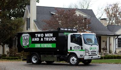 TWO MEN AND A TRUCK launches new junk removal service in St. Louis