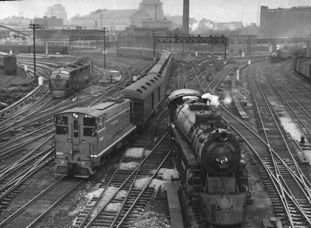 Trains in 1949