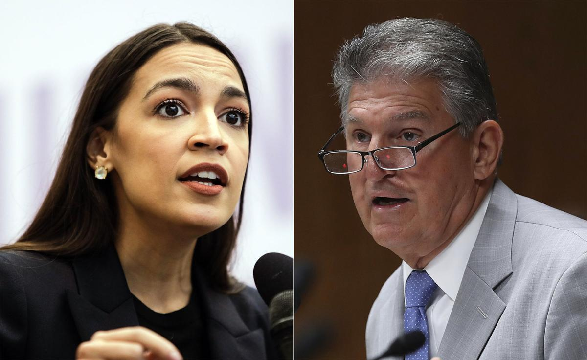 Democratic Party: AOC vs. Joe Manchin