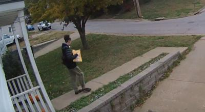 Surveillance of package theft