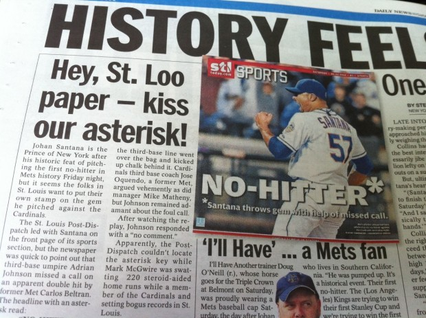 New York Daily News page