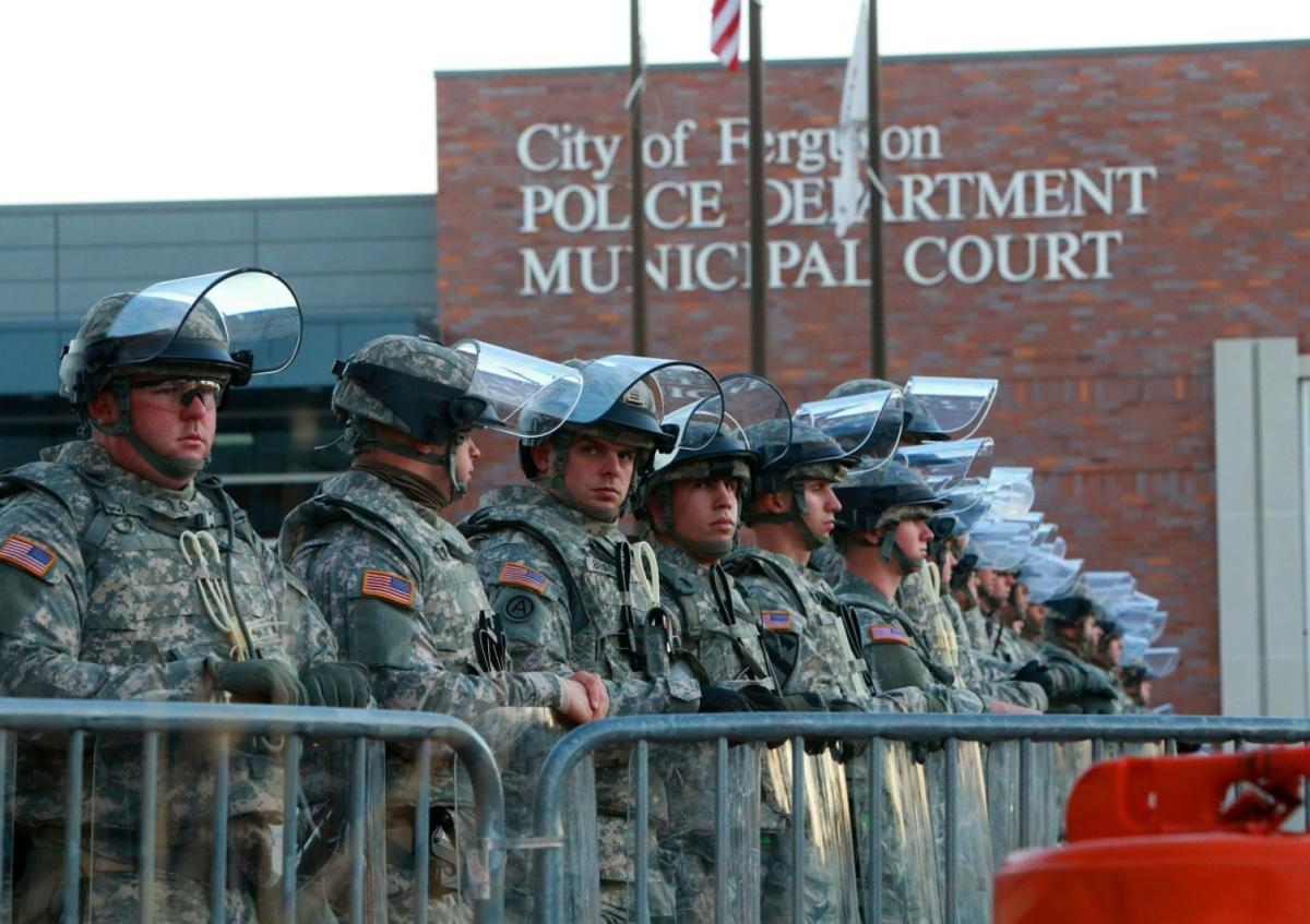 National Guard doubled, deployed by Nixon