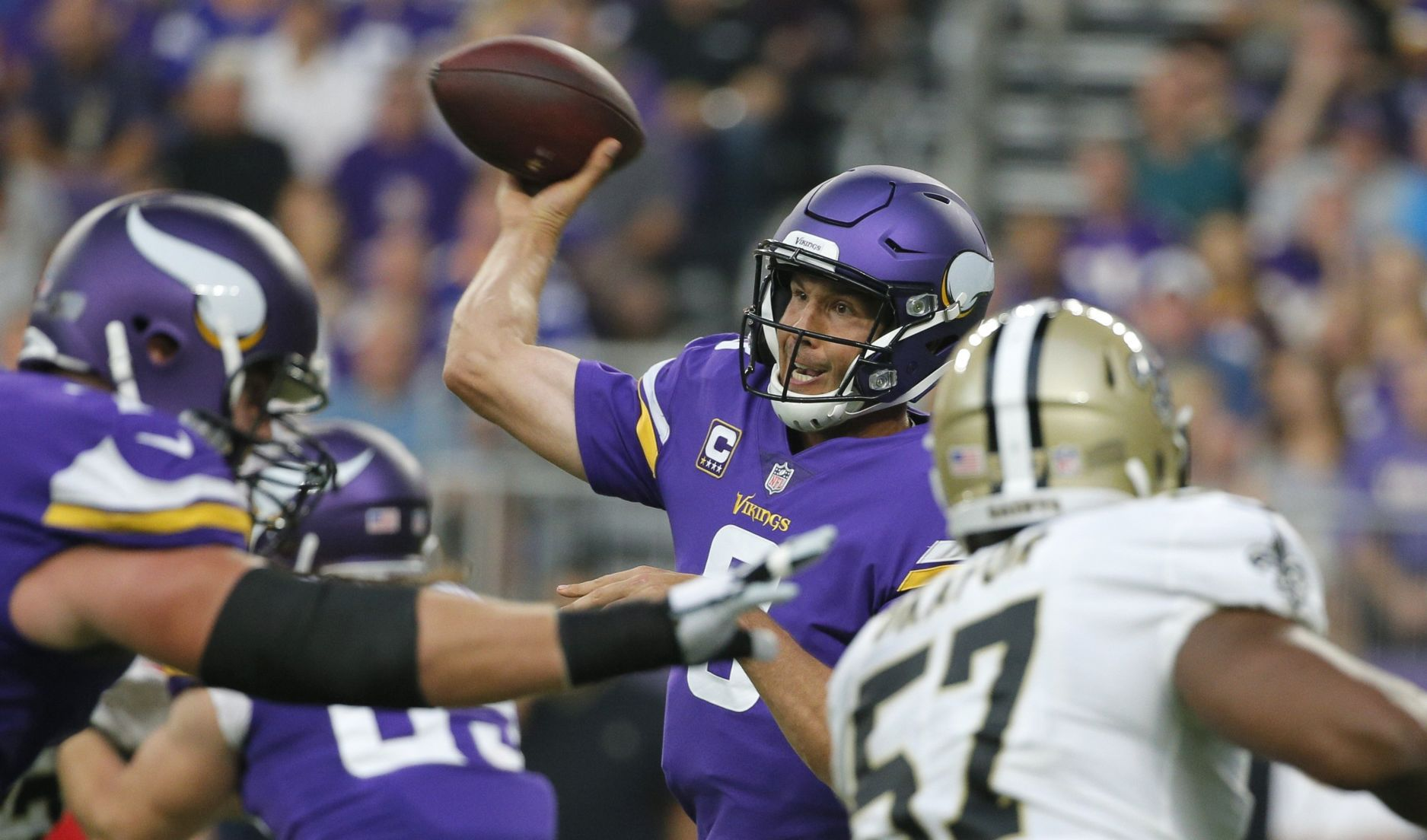 Vikings' winners and losers from 29-19 win against Saints