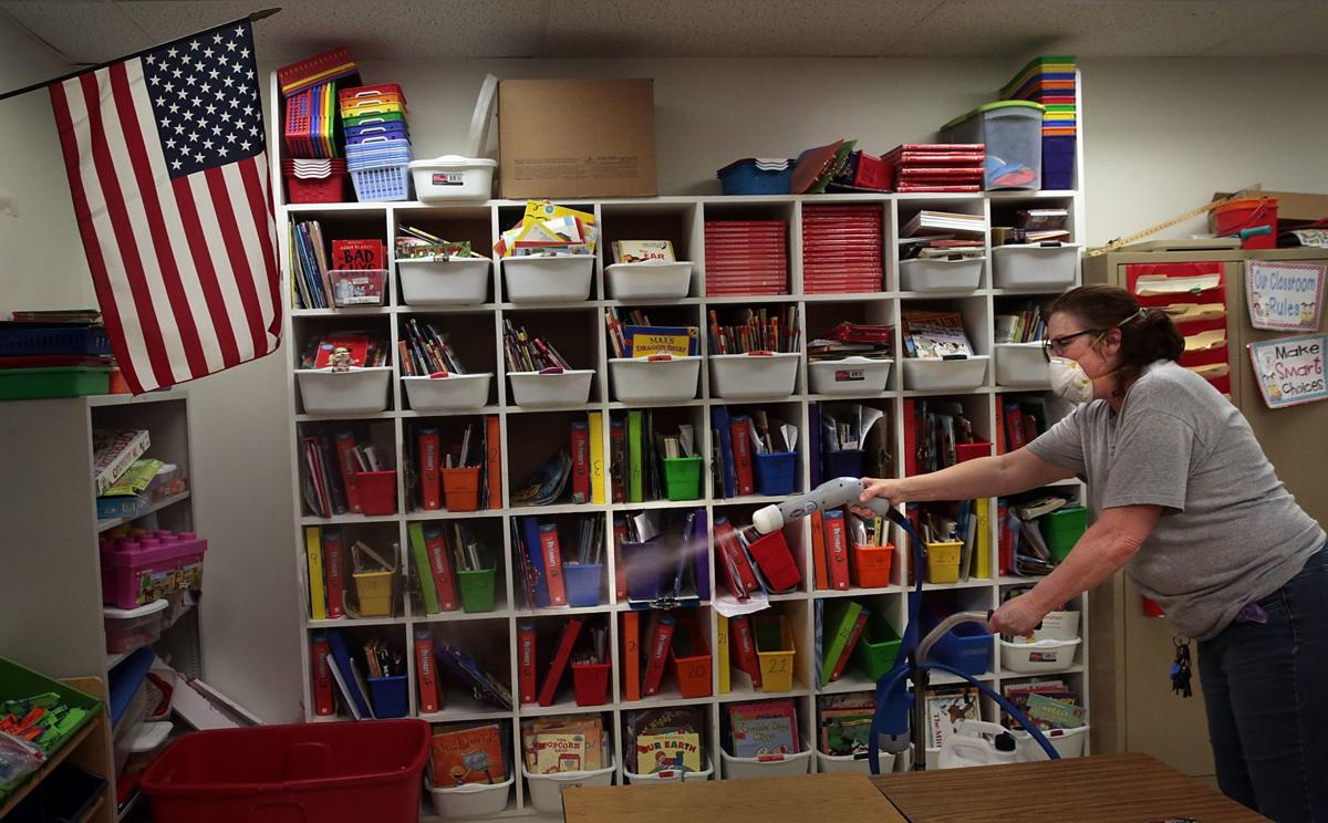 Schools in cleaning mode as they prepare for the return of students