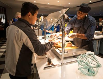 St. Louis Blues and Levy partnership with Operation Food Search