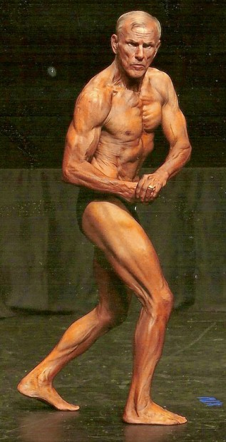 Retired accountant morphs into body builder at 64
